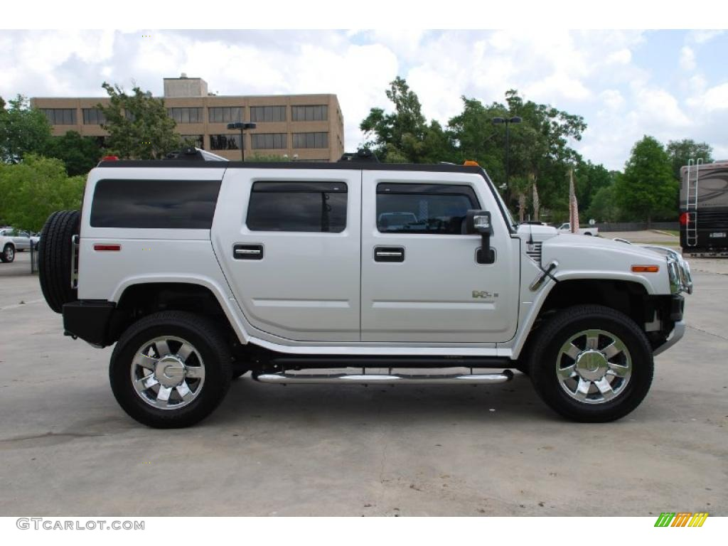 Limited edition silver ice 2009 hummer h2 suv silver ice exterior photo 48792835