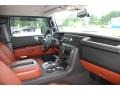 2009 H2 SUV Silver Ice Sedona Brown Interior