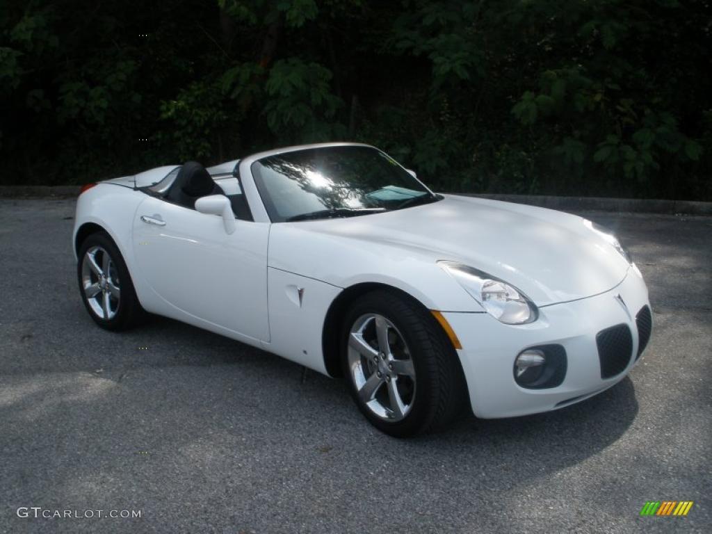 2007 pure white pontiac solstice gxp roadster 48770701 car color galleries. Black Bedroom Furniture Sets. Home Design Ideas