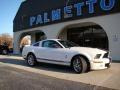 2007 Performance White Ford Mustang Shelby GT500 Coupe  photo #14