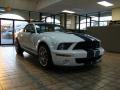 2007 Performance White Ford Mustang Shelby GT500 Coupe  photo #16