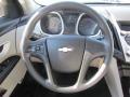 Jet Black/Light Titanium Steering Wheel Photo for 2010 Chevrolet Equinox #48796204