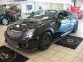 Front 3/4 View of 2011 CTS -V Coupe Black Diamond Edition