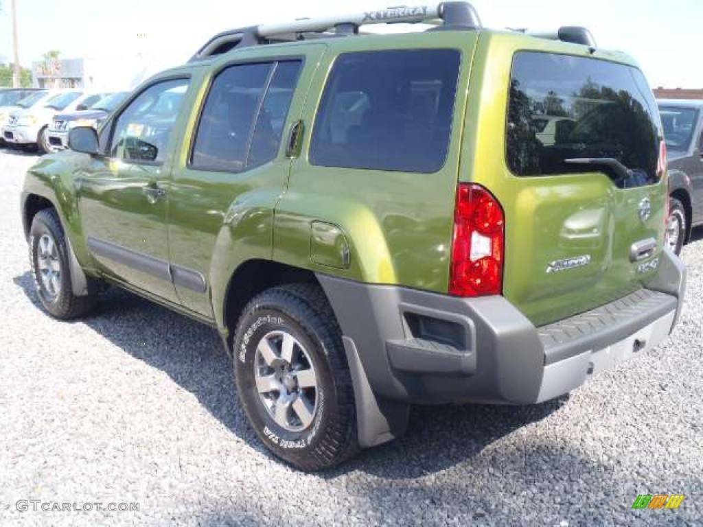 metallic green 2011 nissan xterra pro 4x 4x4 exterior photo 48817761. Black Bedroom Furniture Sets. Home Design Ideas