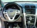 Medium Light Stone Dashboard Photo for 2011 Ford Explorer #48820332