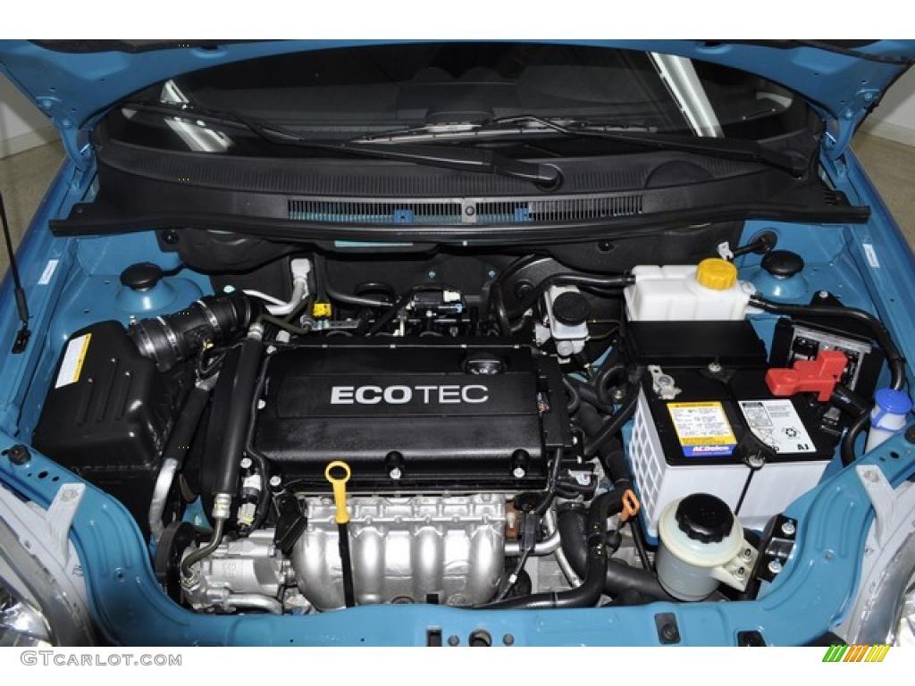 2009 chevrolet aveo lt sedan 1 6 liter dohc 16 valve vvt ecotec 4 cylinder engine