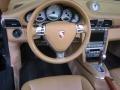 Sand Beige Steering Wheel Photo for 2007 Porsche 911 #48824193
