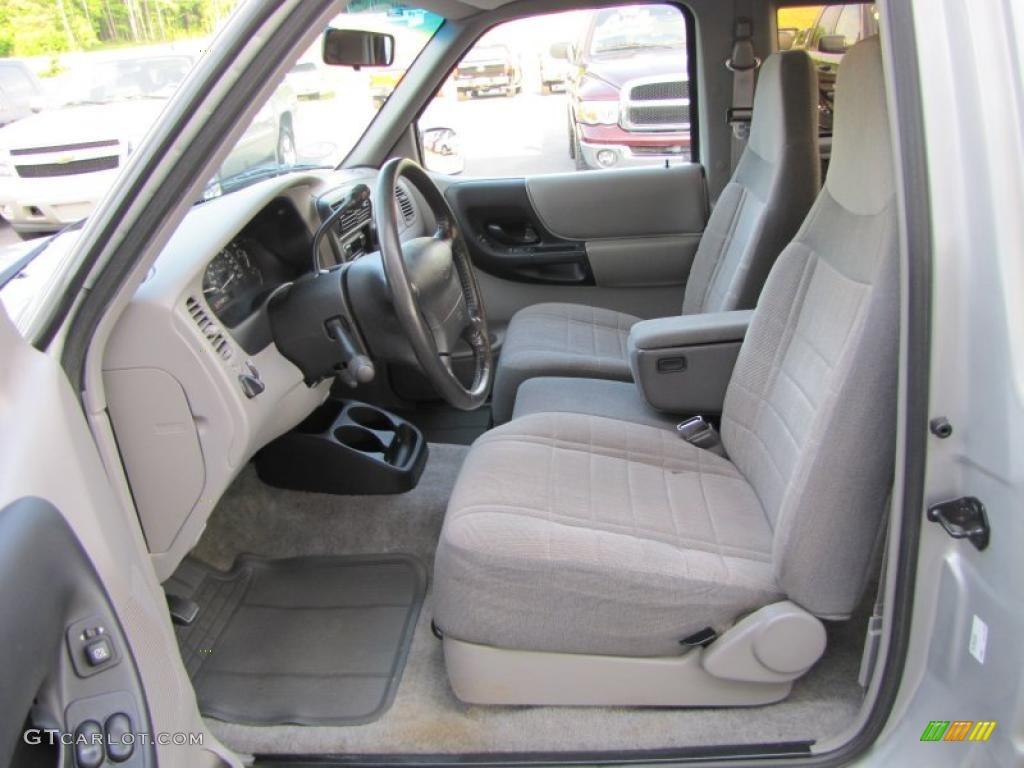 Medium Graphite Interior 1997 Ford Ranger Xlt Extended Cab Photo