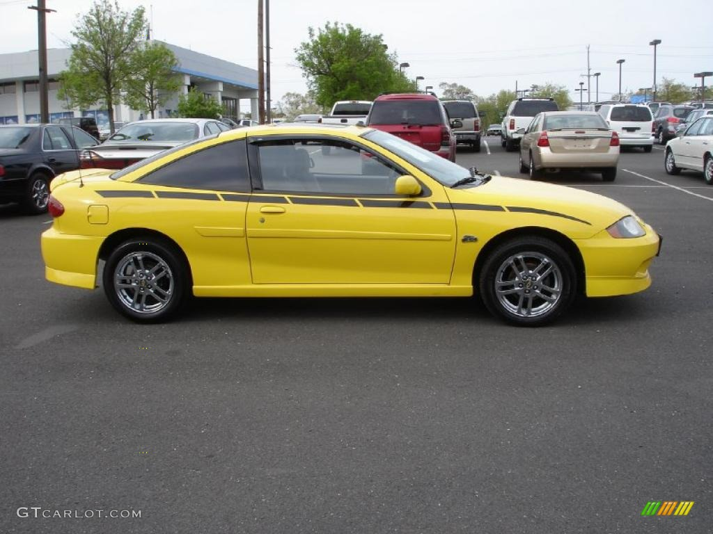 rally yellow 2005 chevrolet cavalier ls sport coupe exterior photo 48843414. Black Bedroom Furniture Sets. Home Design Ideas