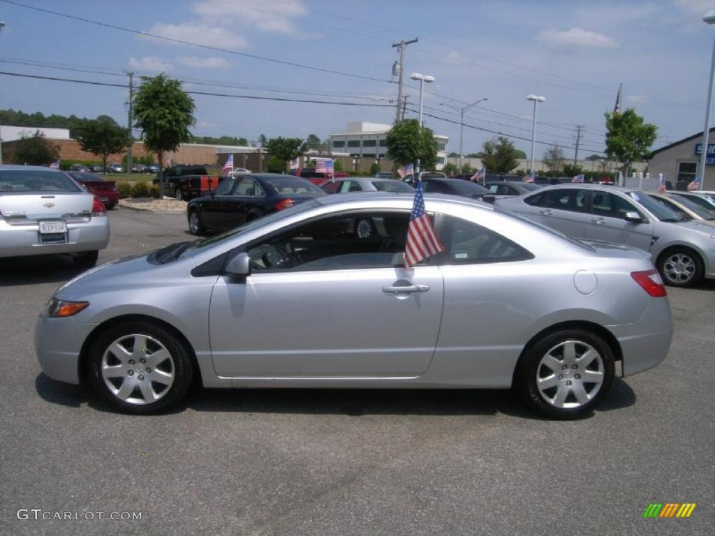 Alabaster Silver Metallic 2006 Honda Civic Lx Coupe
