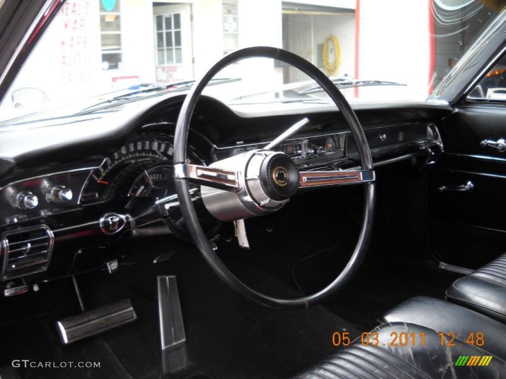 Black Interior 1966 Chrysler 300 2 Door Hardtop Photo