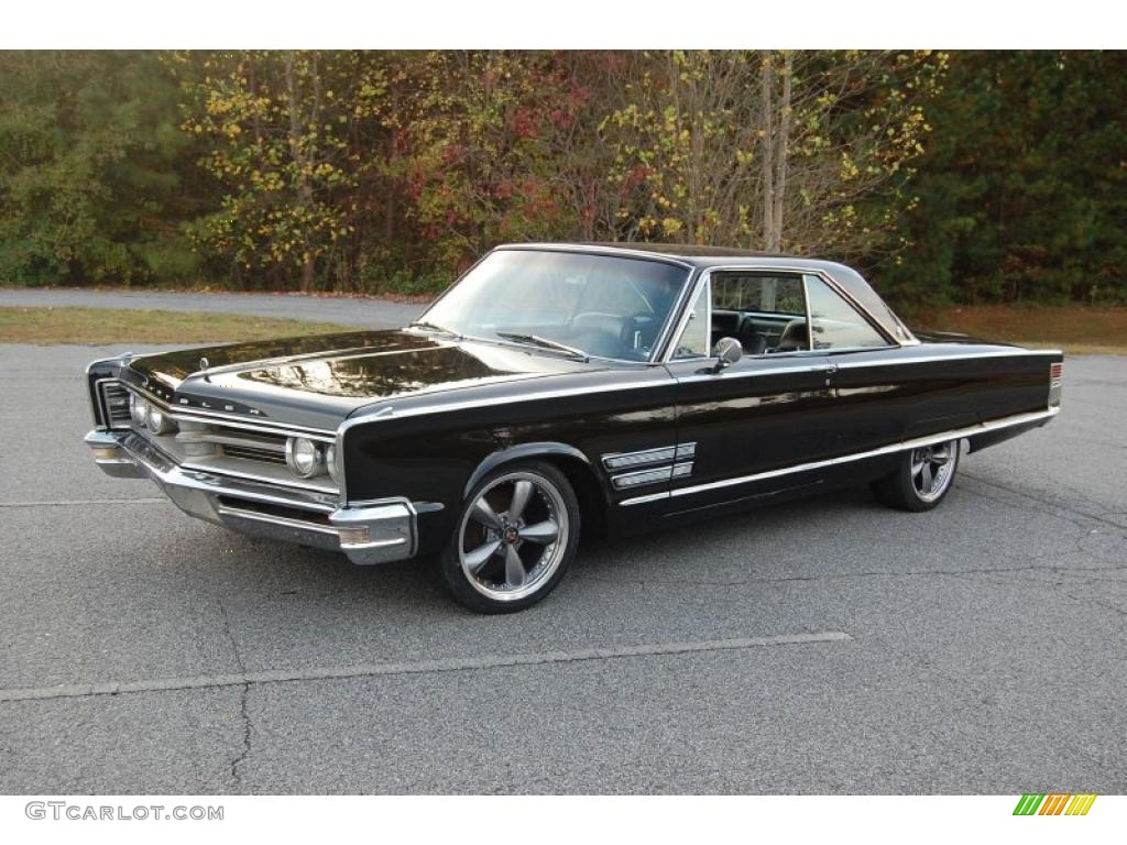 Black 1966 Chrysler 300 2 Door Hardtop Exterior Photo