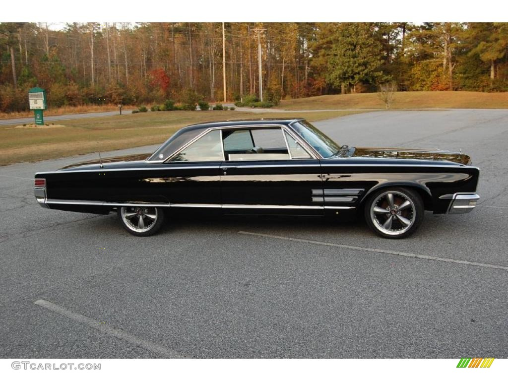 Black 1966 Chrysler 300 2 Door Hardtop Exterior Photo