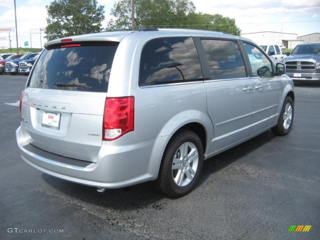 2011 bright silver metallic dodge grand caravan crew 48814715 photo 5 car. Black Bedroom Furniture Sets. Home Design Ideas