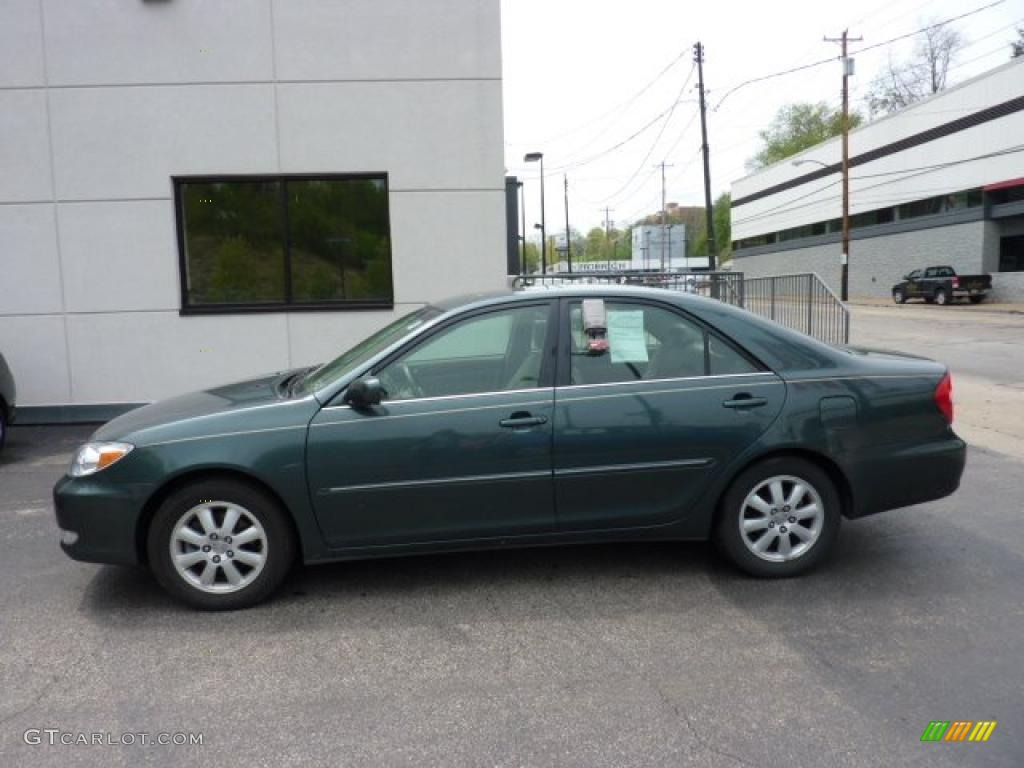 2003 aspen green pearl toyota camry xle v6 48815062 car color galleries. Black Bedroom Furniture Sets. Home Design Ideas
