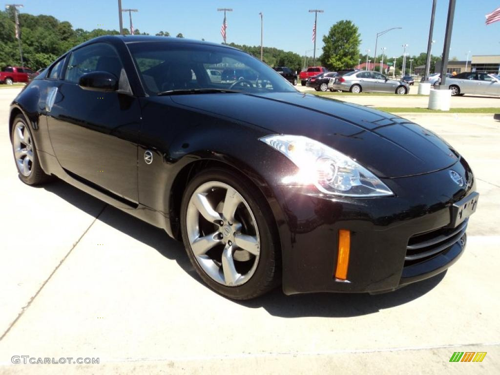 magnetic black pearl 2006 nissan 350z touring coupe. Black Bedroom Furniture Sets. Home Design Ideas