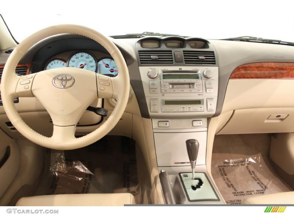 2006 toyota solara sle coupe ivory dashboard photo 48875538. Black Bedroom Furniture Sets. Home Design Ideas