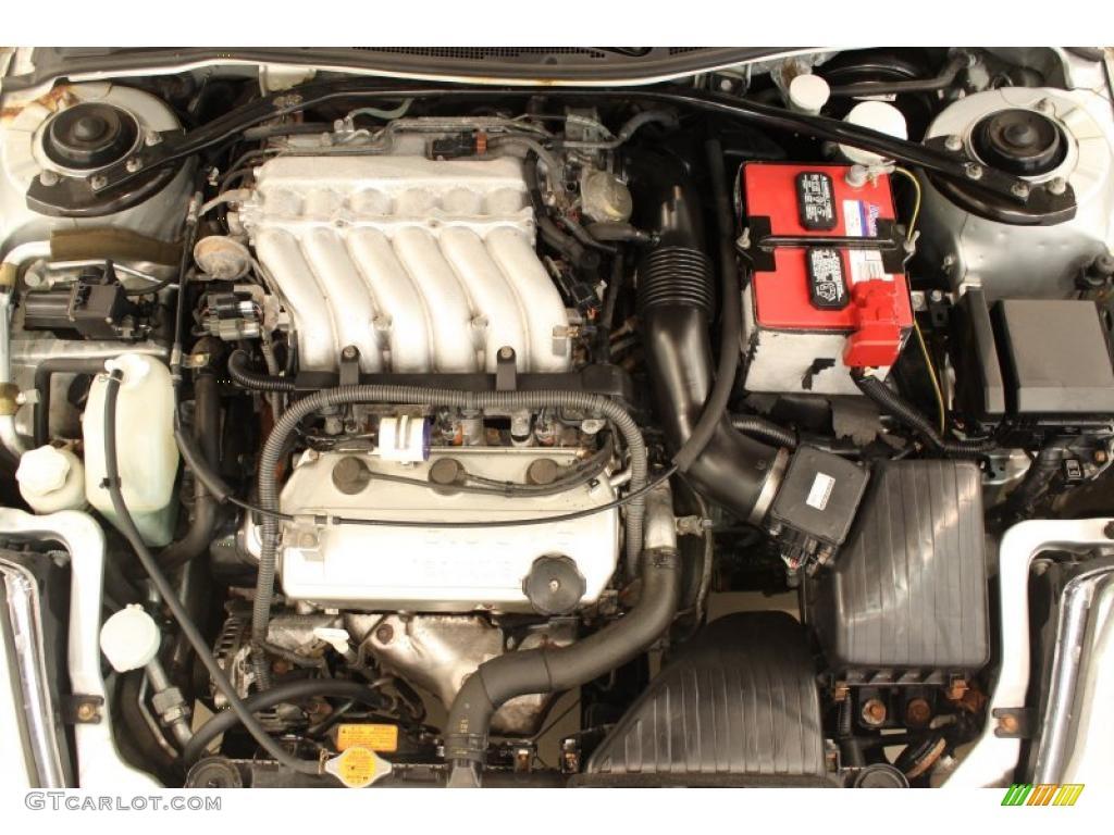 2004 Mitsubishi Eclipse Spyder Gts 3 0 Liter Sohc 24 Valve V6 Engine Photo 48877497 Gtcarlot Com