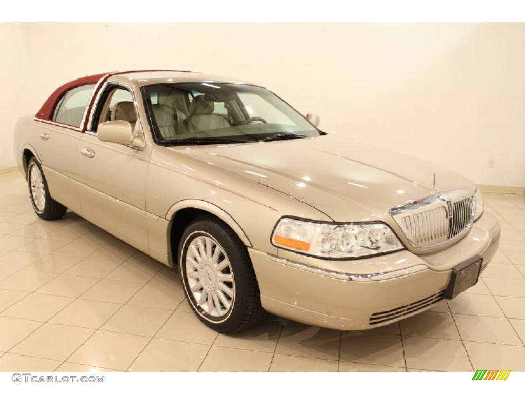 2005 Light French Silk Clearcoat Lincoln Town Car Sedan 48867061