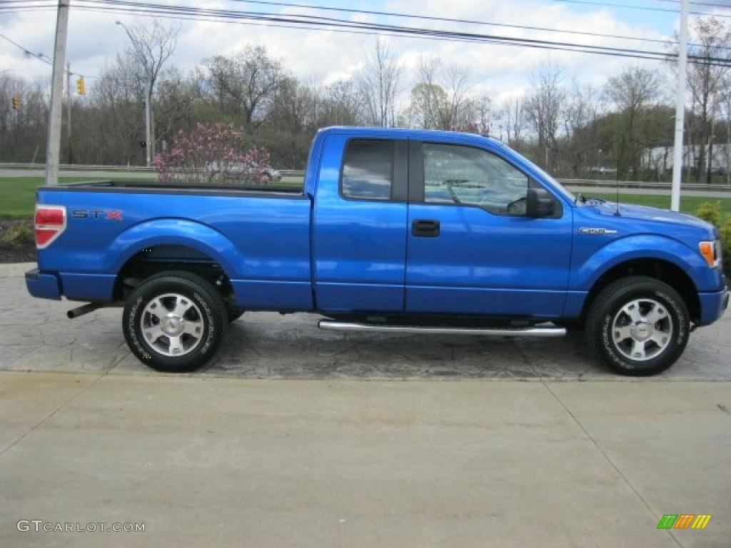 Blue flame metallic 2009 ford f150 stx supercab 4x4 exterior photo 48879399 gtcarlot com