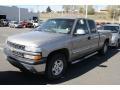 2000 Light Pewter Metallic Chevrolet Silverado 1500 LT Extended Cab 4x4  photo #4