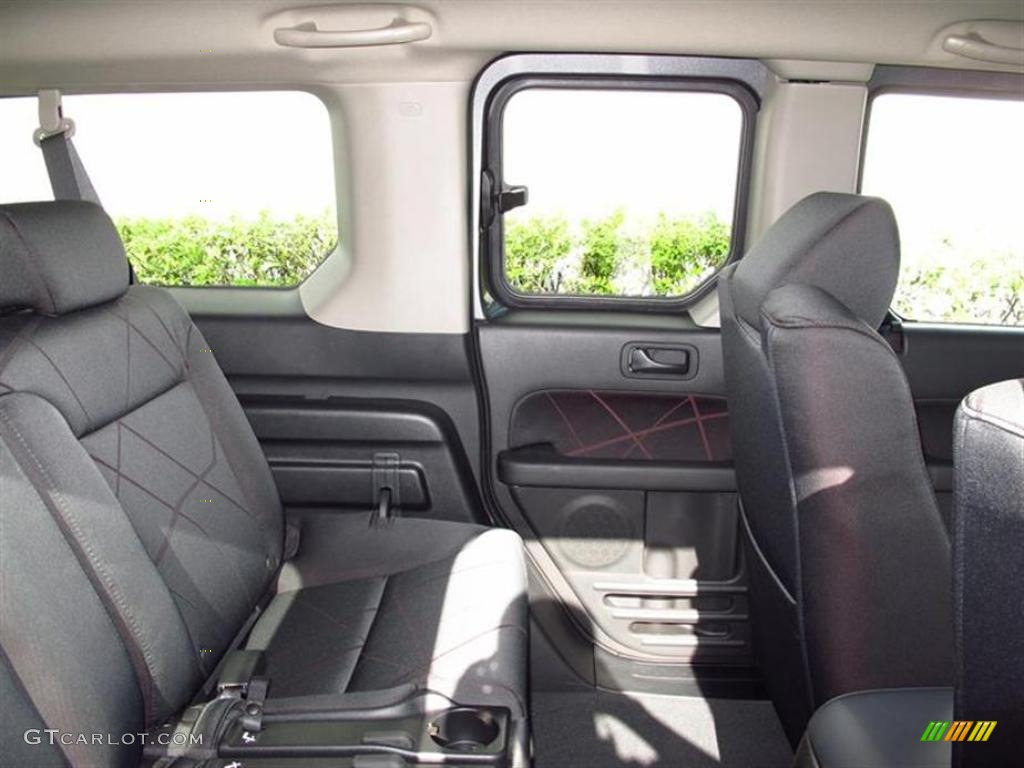 Honda element sc interior