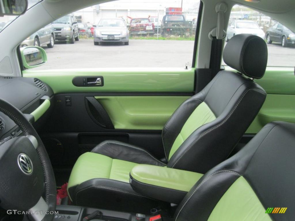 2003 Volkswagen New Beetle Gls 1 8t Cyber Green Color Concept Coupe Interior Photos