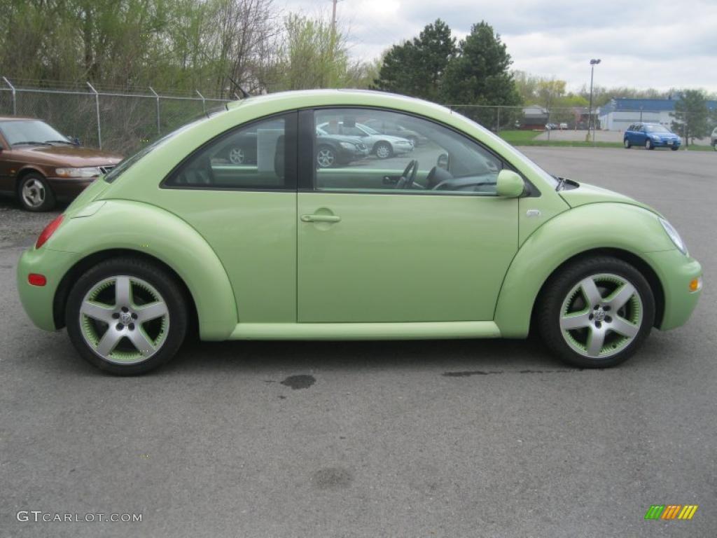 Cyber Green Metallic 2003 Volkswagen New Beetle Gls 1 8t