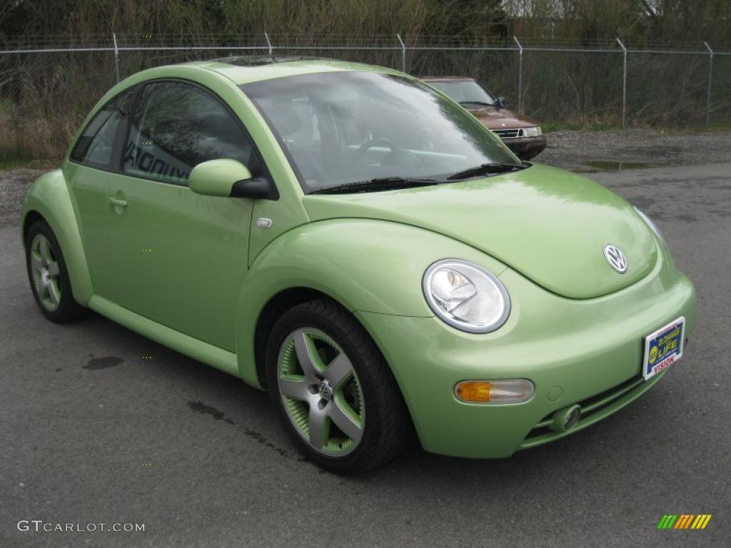 2003 volkswagen new beetle gls 1 8t cyber green color. Black Bedroom Furniture Sets. Home Design Ideas