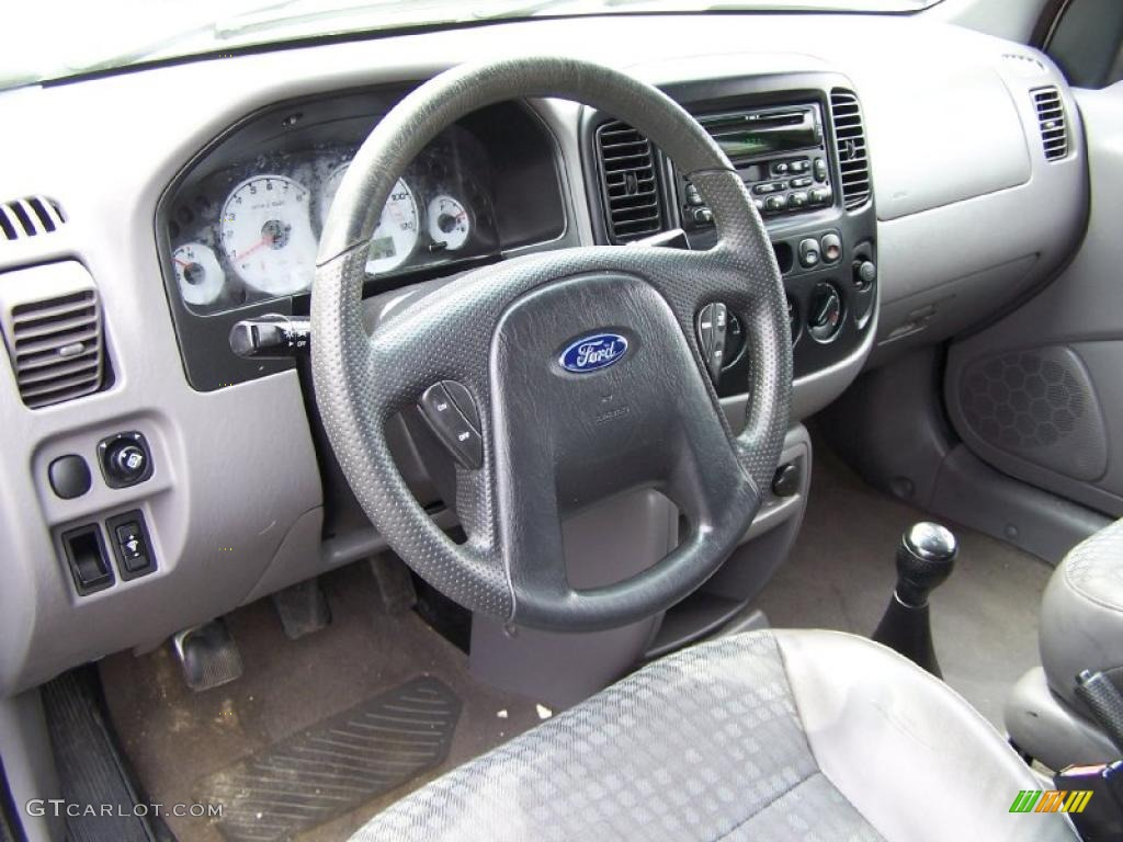 Medium Graphite Interior 2002 Ford Escape Xls 4wd Photo