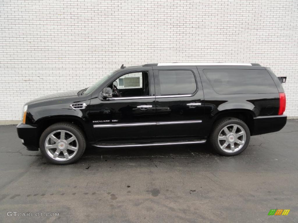black raven 2011 cadillac escalade esv luxury awd exterior. Black Bedroom Furniture Sets. Home Design Ideas