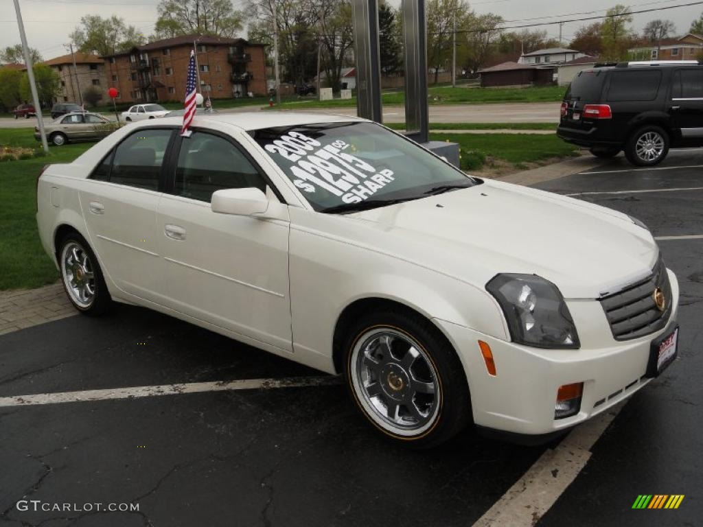 white diamond 2003 cadillac cts sedan exterior photo 48913097. Black Bedroom Furniture Sets. Home Design Ideas