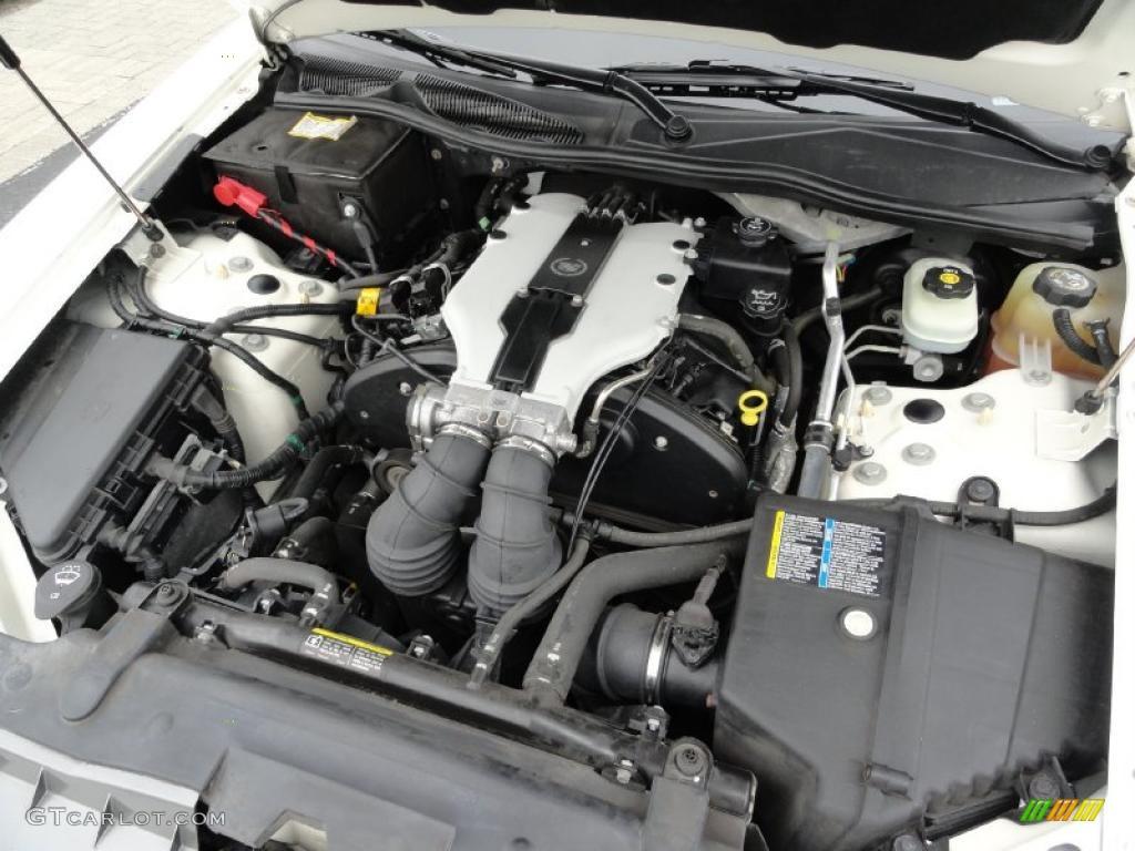 2003 cadillac cts sedan 3 2 liter dohc 24 valve v6 engine