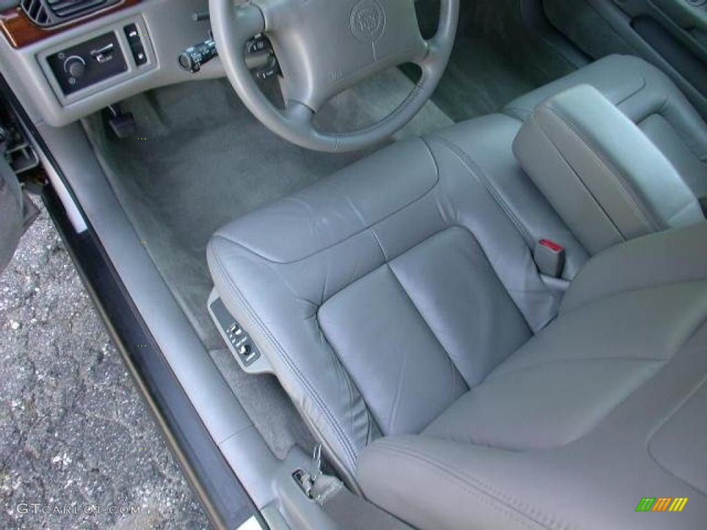 Pewter Interior 1999 Cadillac Deville Sedan Photo 48917259