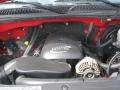 2005 Victory Red Chevrolet Silverado 1500 LS Regular Cab 4x4  photo #8