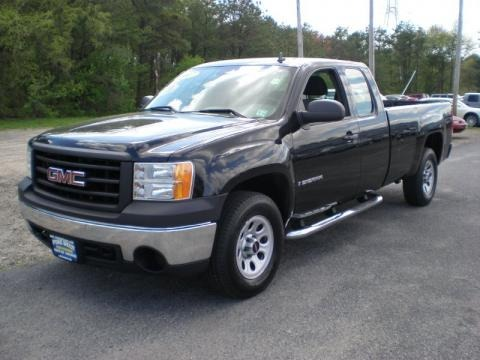 2007 gmc sierra 1500 extended cab 4x4 data info and specs. Black Bedroom Furniture Sets. Home Design Ideas