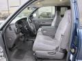Mist Gray Interior Photo for 2001 Dodge Ram 2500 #48940759