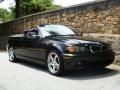 Jet Black 2004 BMW 3 Series 325i Convertible
