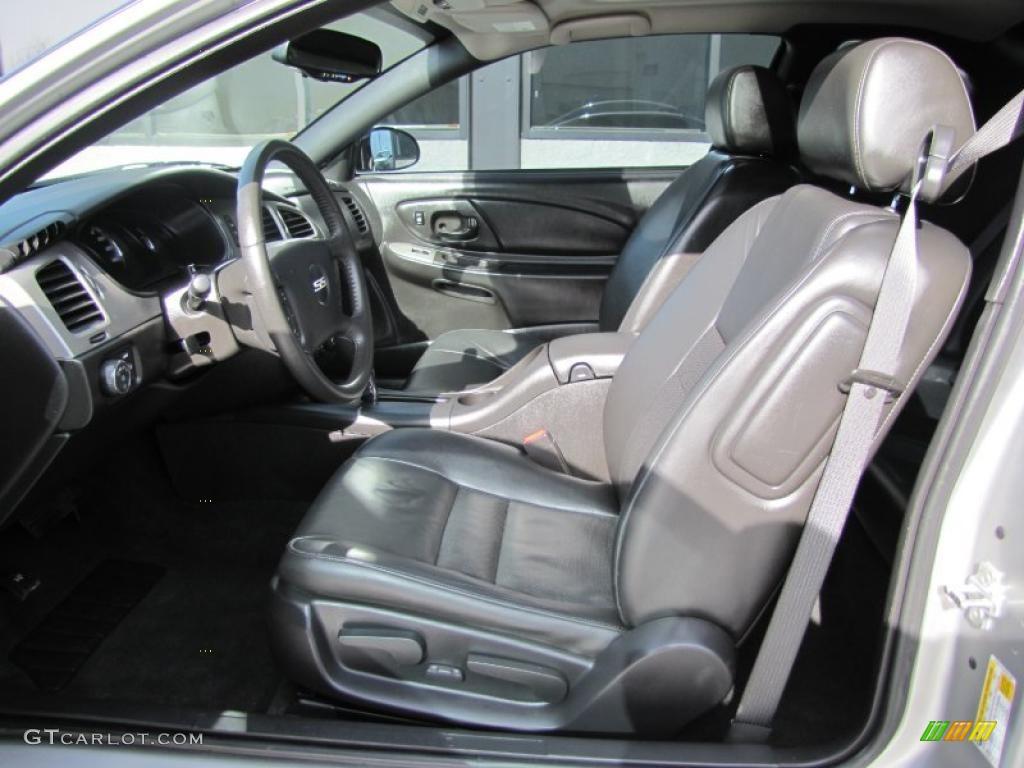 Ebony Interior 2006 Chevrolet Monte Carlo Ss Photo 48941644