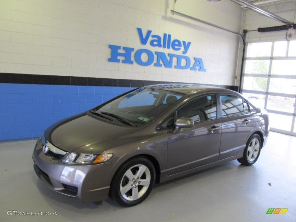 Urban Titanium Metallic Honda Civic