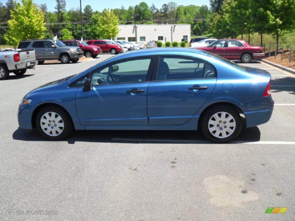 Atomic Blue Metallic 2010 Honda Civic DX-VP Sedan Exterior ...