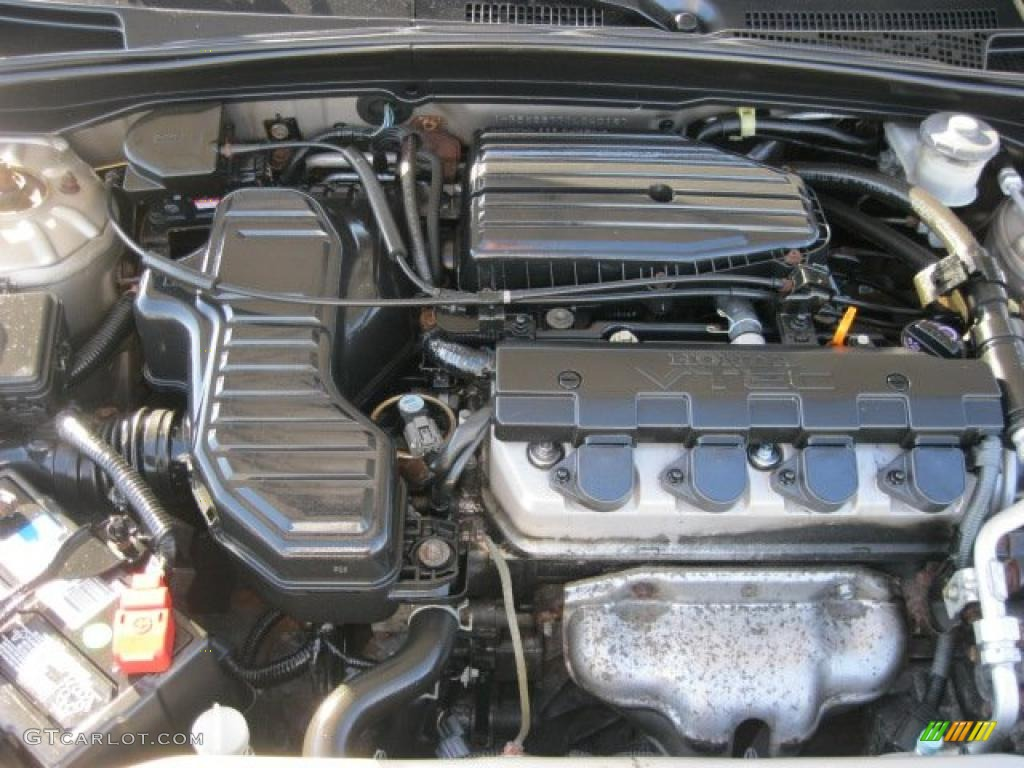 2001 honda civic ex sedan 1 7l sohc 16v 4 cylinder engine