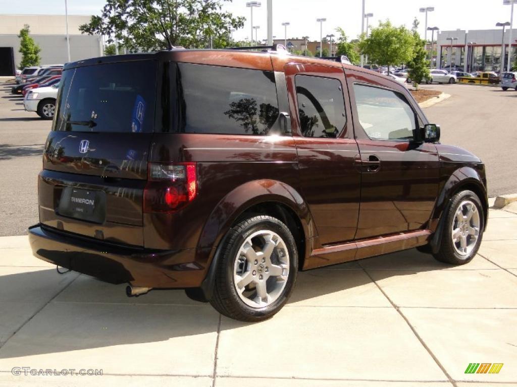Root Beer Metallic 2008 Honda Element Sc Exterior Photo