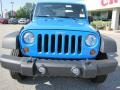 2011 Cosmos Blue Jeep Wrangler Sport 4x4  photo #2
