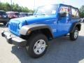 2011 Cosmos Blue Jeep Wrangler Sport 4x4  photo #3