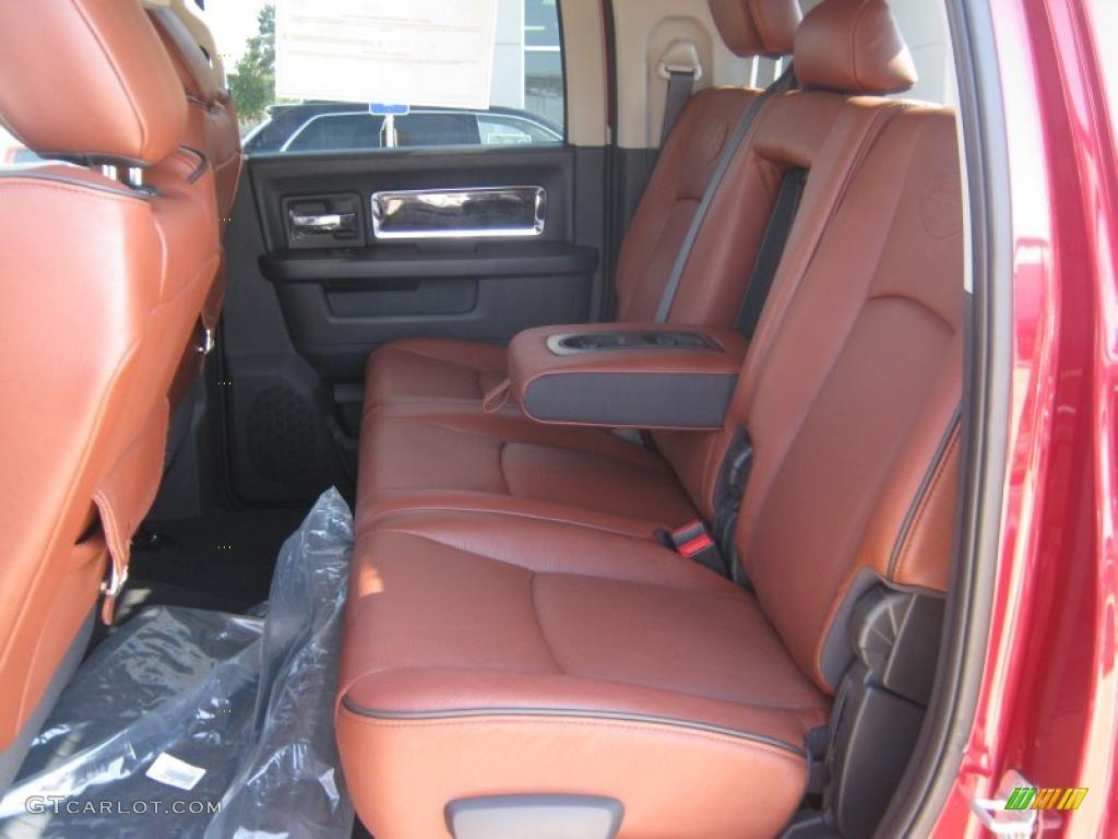 2011 Dodge Ram 3500 HD Laramie Longhorn Mega Cab 4x4 Dually Interior Photo  #48985046