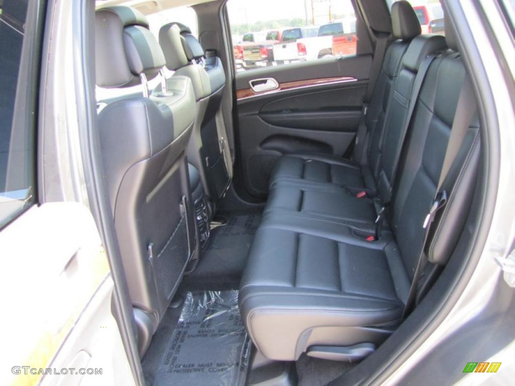 Black Interior 2011 Jeep Grand Cherokee Limited Photo 48985241