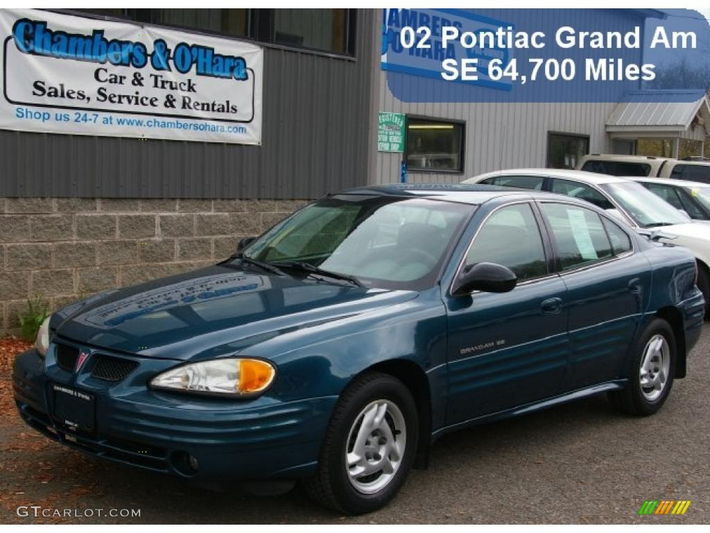 2002 dark tropic teal metallic pontiac grand am se sedan. Black Bedroom Furniture Sets. Home Design Ideas