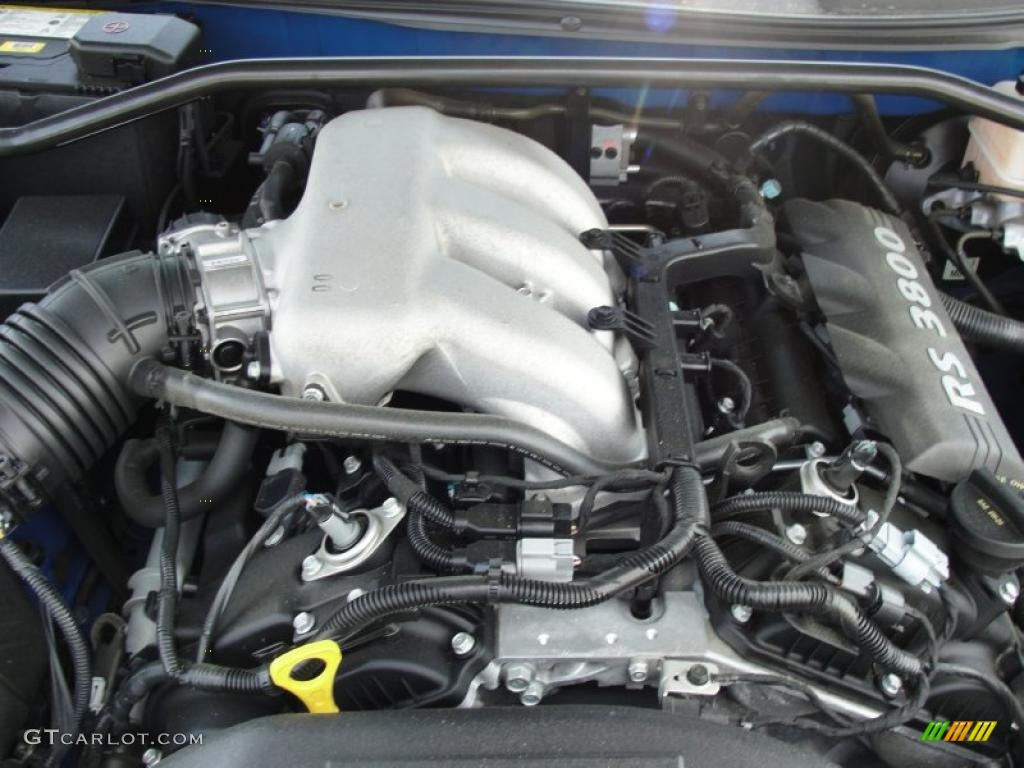 2011 Hyundai Genesis Coupe 3 8 Engine Photos Gtcarlot Com