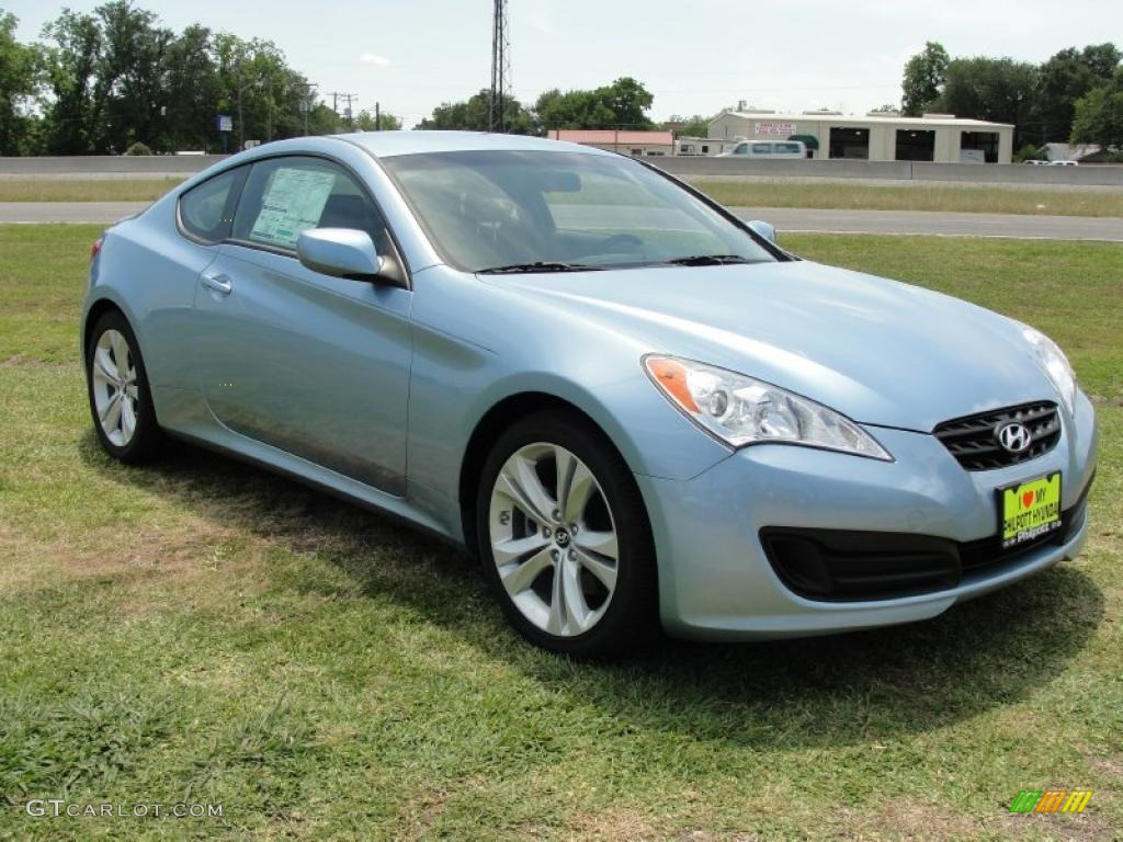 2011 Acqua Minerale Blue Hyundai Genesis Coupe 2 0t 48981076 Gtcarlot Com Car Color Galleries